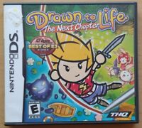 Drawn to Life  Nintendo DS DS Lite 3DS 2DS Game Works Complete