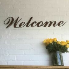 Welcome Letters Decorative Plaques & Signs