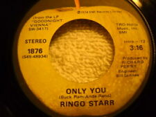 Ringo Starr Only You / Call Me 45 1974 Apple 1876 Vinyl Record