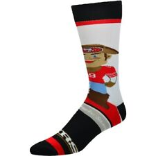 For Bare Feet San Francisco 49ers Youth Mascot Bobble Head Quarter-Length Socks