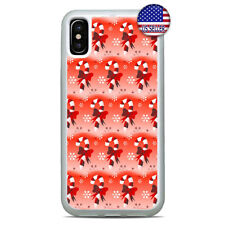 Christmas Cover Candy Cane Case For iPhone X Xs Max XR 8 7 6 Plus 5 Slim TPU