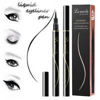 Black Waterproof Eyeliner Liquid Eye Liner Pen Eyebrow Eye Brow Pencil Hot