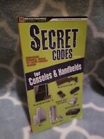 Secret Codes For Consoles And Handhelds [Bradygames 2008] Read Description