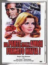 dvd DA PARTE DEGLI AMICI FIRMATO MAFIA! J. YANNE, S. BERGER, S. HAYDEN, SBRAGIA
