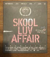 BTS Official Skool Luv Affair Original Album Bangtan