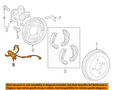 89516-74010 Toyota Wire, skid control sensor 8951674010
