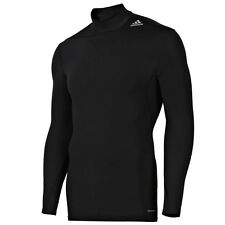 adidas Funktionsshirt Techfit Base warm Langarm Herren schwarz XL