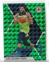 2019-20 Panini Mosaic basketball Green Mosaic parallel #83 Karl-Anthony Towns