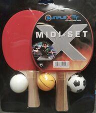 Table Tennis Bat Set: Sunflex Midi Set