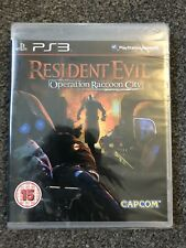 PlayStation 3-Resident Evil: operación Raccoon City (excelente sellado de fábrica) UK