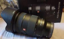 Sony FE 24-70mm F2.8 GM G Master Lens