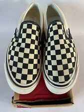 Vans Anaheim Factory Classic Slip On 98 Canvas Check Trainers -UK 6 /US 7 /EU 39
