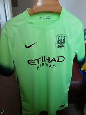 MANCHESTER CITY  DE BRUYNE 17  FOOTBALL SHIRT SIZE  LARGE