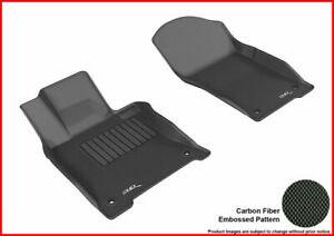3D Maxpider All Weather Floor Liner L1IN01711509 For Q50 14-17 KAGU Rubber Black