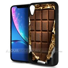 ( For iPhone XR ) Back Case Cover AJ10390 Chocolate