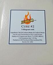 1 KG Meat Cure Salt #2 (6% + 4%) Sausage, Salami, Insta-Cure, Pink Salt, Curing