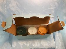 NIB PartyLite Bestburn Mini Barrel Jar Candles - RARE