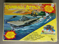 1981 KAMIKAZE ATTACK AN ACTION PLAYSET BOX  CONVERTS TO AIRCRAFT CARRIER