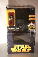 STAR WARS TIE FIGHTER + PILOT LARGER SCALE WINGS ROTS COLLECTION SEALED New