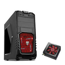 AvP STORM 27 Gaming Pc Computer Tower case - 750W PSU Alimentatore-LED rosso