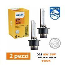 2 LAMPADINE XENON D2S PHILIPS ORIGINAL VISION 4400K LUNGA DURATA 85122C1