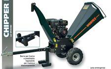 SHREDDER wood CHIPPER PETROL WORTEX CHIPPER D420 L ENGINE LONCIN G 420 120mm