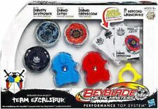 Beyblade Metal Masters Team Excalibur Top Set
