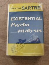 EXISTENTIAL PSYCHOANALYSIS by Jean-Paul Sartre - 1st 1953 HCDJ philosophy $4.75