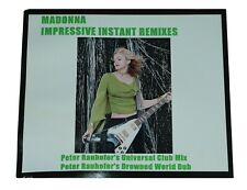 "MADONNA ""Impressive Instant"" Promo CD-R Acetate with picture sleeve [Australia]"