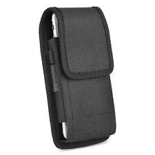 Custodia verticale per iPhone 7 Plus e 8 Plus, passante per cintura con Clip