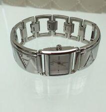 ARMANI rechteckige Armbanduhren für Damen