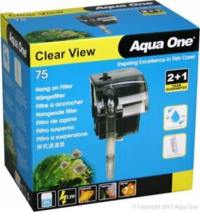 AQUA ONE CLEARVIEW 75 HANGON FILTER 190L/HR