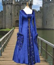 Ladies Medieval pagan gown costume wedding dress size 14-16