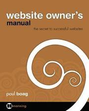 Website Owner's Manual: By Boag, Paul