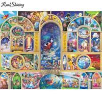 5D Diamond Painting Mickey Wizard World of Disney Collage Kit