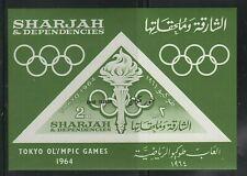 WORLDWIDE  OLYMPICS  1964  SHARJAH SOUVENIR LIST, LOT  #  5 B