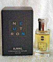 Neutron Perfume Oil - Dubai Attar Mens Fragrance by Ajmal 10ml - AU seller