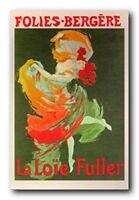 Fashion Girl Dance Dancing La Loie Fuller Folies Bergere French Art Print 16x20