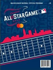 2019 MLB ALL STAR GAME PROGRAM OFFICIAL GAMEDAY ASG VERSION CLEVELAND INDIANS