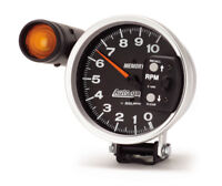 "Auto Meter 233906 Gauge Tach 5"" 10,000 RPM Shift Lite Memory Black Auto Gauge"