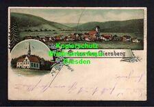 114144 AK Giersberg Kirchzarten Litho um 1900 Panorama Kirche Verlag Kornhaus Fr
