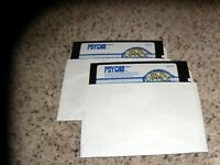 """Psycho MS-DOS PC Game 5.25"""" disks"""