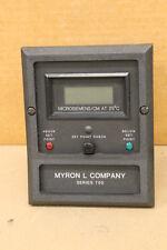 MYRON L COMPANY 758-15 SERIES 750 CONTROLLER