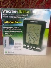 WeatherStation Digital Weather Forecast Station with Wireless Indoor/Outdoor