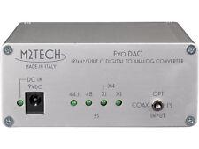 M2TECH EVO DAC CONVERTER DAC 32/192 NEW, OFFICIAL WARRANTY