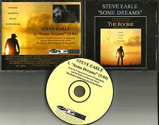 STEVE EARLE Some Dreams DENNIS QUAID the Rookie BASEBALL PROMO DJ CD single 2002
