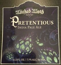 BEER STICKER Pretentious India Pale Ale Brewing Company Craft label IPA decal