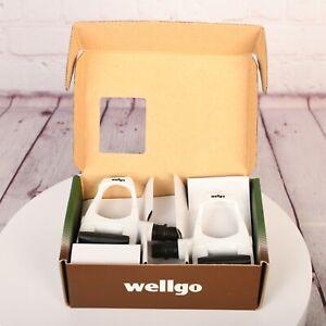 "WELLGO W-40 Quick Release Pedal NEW IN BOX 9/16"" CM White"