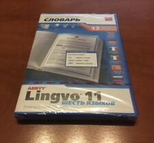 ABBYY LINGVO 11 IN RUSSO nuovo.