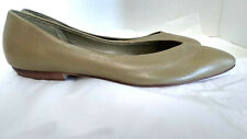 Brass Plum Ballet Flat Shoes Size 9 Narrow Olive Beige Nordstrom